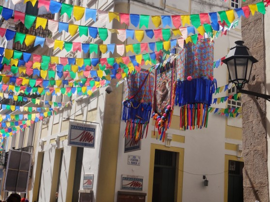Many of the decorations were actually remnants of the Festival of São João that happened days before we arrived in June.