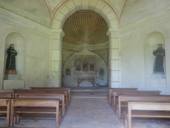 The chapel attached to the castle