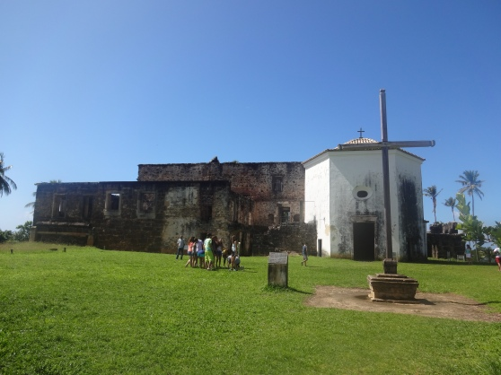 Castelo Garcia D'Avila, the only feudal castle in the Americas, built between 1551 and 1624.  The property controlled by Garcia D'Avila was once the size of one tenth of Brazil's current territory.