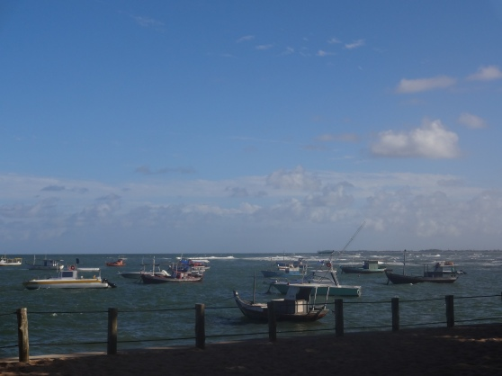 Lots of fishing boats to keep up with the delicious sea food offered here