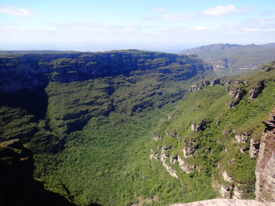 The canyon of Cahoiera da Fumaça
