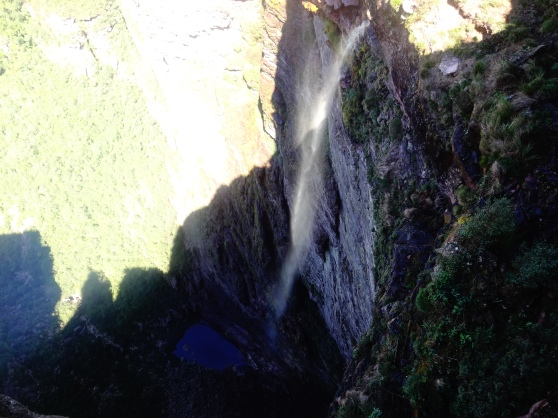Cachoiera da Fumaça, the highest waterfall in Brasil
