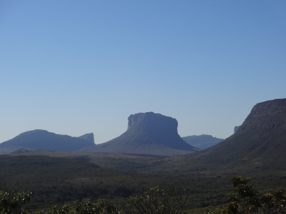 The rocky plateaus that give Chapada its name