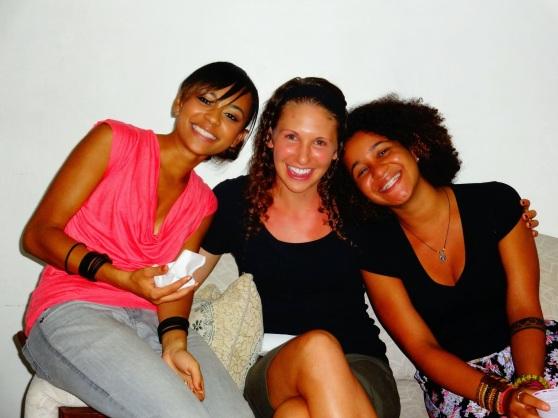 Rochelle, Rebecca, and Amanda